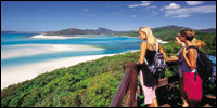 Backpacker holiday Whitsunday Islands